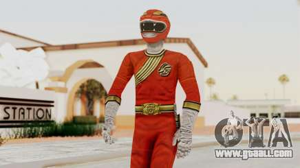 Power Rangers Wild Force - Red for GTA San Andreas