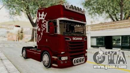 Scania R730 for GTA San Andreas
