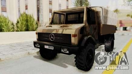 Mercedes-Benz Vojno Vozilo for GTA San Andreas