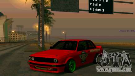 BMW E30 Drift for GTA San Andreas