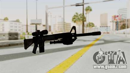 M16 Sniper for GTA San Andreas