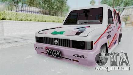 Toyota Kijang Grand Nico.Y Itasha for GTA San Andreas
