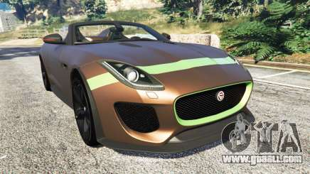 Jaguar F-Type Project 7 2016 for GTA 5