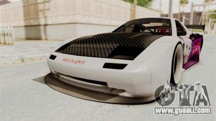 Mazda RX-7 FC Itasha for GTA San Andreas