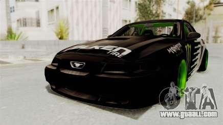 Ford Mustang 1999 Drift Monster Energy Falken for GTA San Andreas