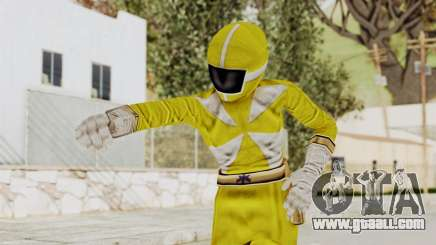 Power Rangers Lightspeed Rescue - Yellow for GTA San Andreas