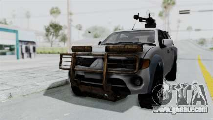 Mitsubishi L200 Army Libyan for GTA San Andreas