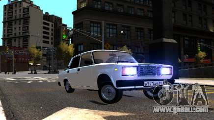 VAZ 2107 AzElow for GTA 4