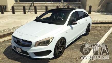 Mercedes-Benz CLA 45 AMG Shooting Brake for GTA 5