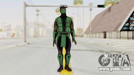 Mortal Kombat X Klassic Reptile for GTA San Andreas second screenshot