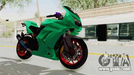 Kawasaki Ninja 250R Race for GTA San Andreas right view