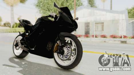 Kawasaki Ninja 250RR Mono Sport for GTA San Andreas right view