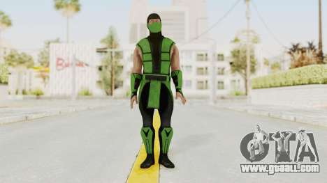 Mortal Kombat X Klassic Human Reptile for GTA San Andreas second screenshot
