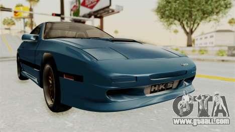 Mazda RX-7 FC3S for GTA San Andreas right view