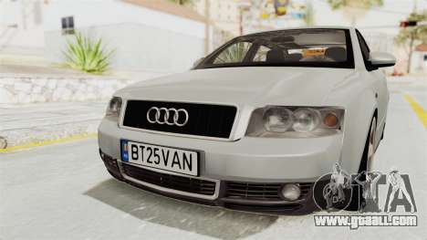 Audi A4 2002 Stock for GTA San Andreas