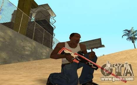 Rifle Cyrex for GTA San Andreas