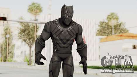 Captain America Civil War - Black Panther for GTA San Andreas