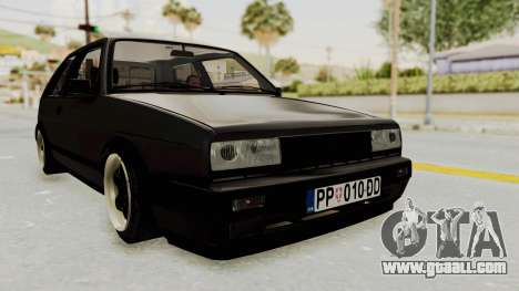 Volkswagen Golf 2 VR6 for GTA San Andreas back left view