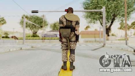 MGSV The Phantom Pain Venom Snake Scarf v8 for GTA San Andreas third screenshot