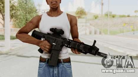 M4A1 SWAT for GTA San Andreas third screenshot
