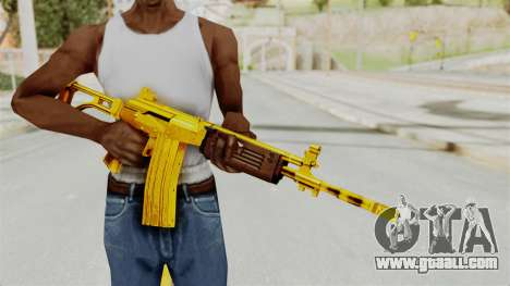 Galil Gold for GTA San Andreas third screenshot
