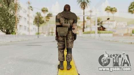 MGSV The Phantom Pain Venom Snake Scarf v9 for GTA San Andreas third screenshot