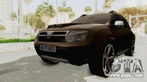 Dacia Duster 2010 Tuning for GTA San Andreas