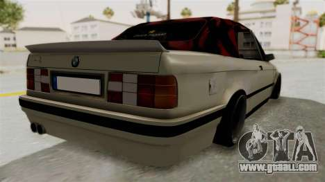 BMW M3 E30 for GTA San Andreas back left view