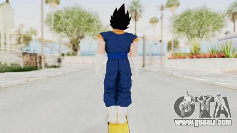 Dragon Ball Xenoverse Vegito SJ for GTA San Andreas third screenshot