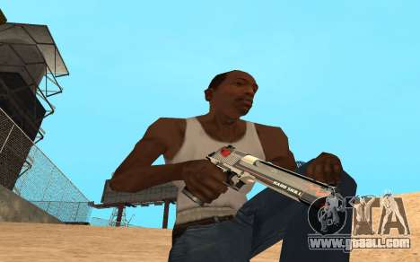 Desert Eagle Cyrex for GTA San Andreas