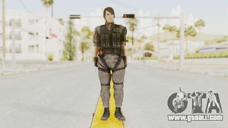 MGSV Phantom Pain Quiet XOF v1 for GTA San Andreas second screenshot