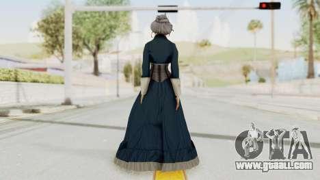 Bioshock Infinite Elizabeth Old for GTA San Andreas third screenshot