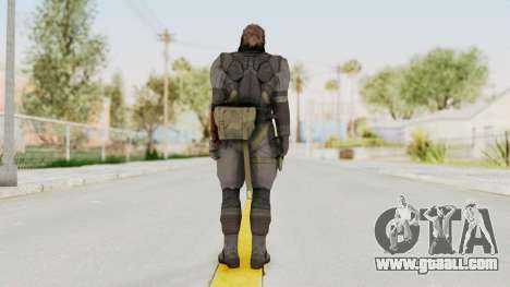 MGSV Phantom Pain Venom Snake Sneaking Suit for GTA San Andreas third screenshot