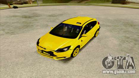 Ford Focus Taxi for GTA San Andreas right view