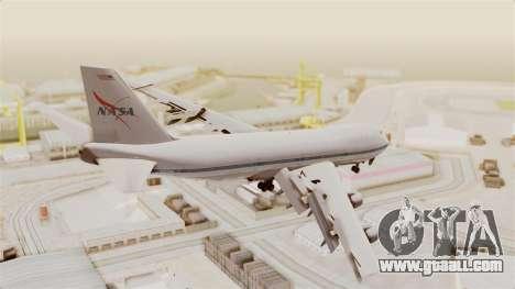 Boeing 747-123 NASA for GTA San Andreas left view