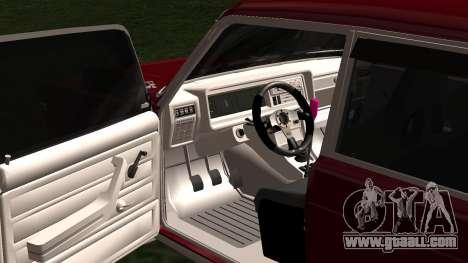 2107 JDM for GTA San Andreas inner view