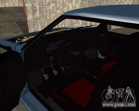 VAZ 2108 for GTA San Andreas wheels