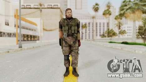MGSV The Phantom Pain Venom Snake No Eyepatch v6 for GTA San Andreas second screenshot