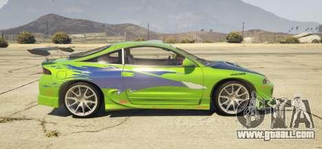 1995 Mitsubishi Eclipse GSX for GTA 5