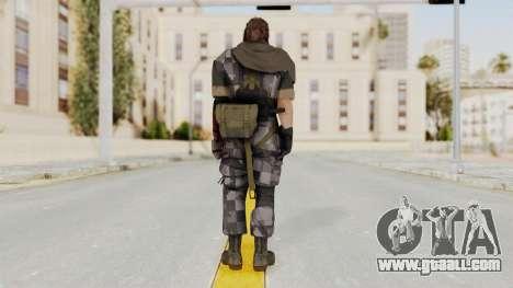 MGSV The Phantom Pain Venom Snake Scarf v7 for GTA San Andreas third screenshot