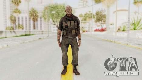 COD Black Ops 2 Hudson Commando for GTA San Andreas second screenshot