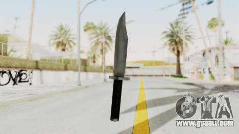 Liberty City Stories - Knife for GTA San Andreas second screenshot
