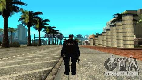 Police SWAT Skin for GTA San Andreas for GTA San Andreas third screenshot