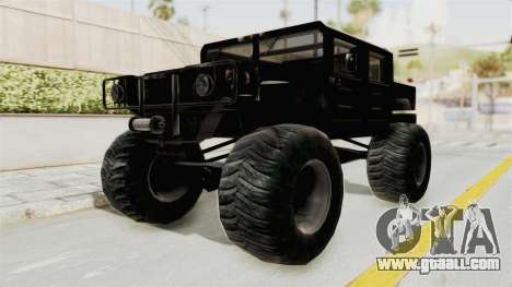 Hummer H1 Monster Truck TT for GTA San Andreas right view