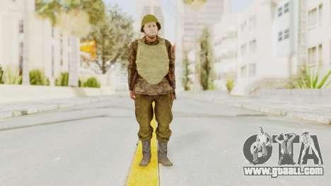 MGSV The Phantom Pain Soviet Union VH Sleeve v1 for GTA San Andreas second screenshot