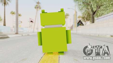 Crossy Road - Android Robot for GTA San Andreas third screenshot