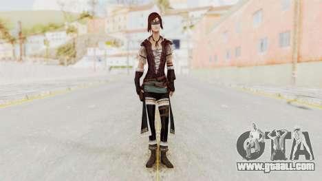 AC Brotherhood - Courtesan Elite Costume for GTA San Andreas second screenshot
