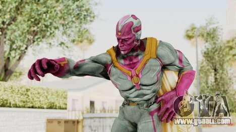 Captain America Civil War - Vision for GTA San Andreas