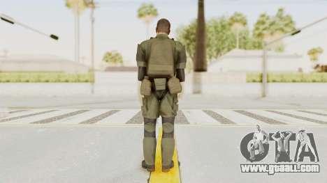 MGSV Ground Zeroes MSF Medic for GTA San Andreas third screenshot