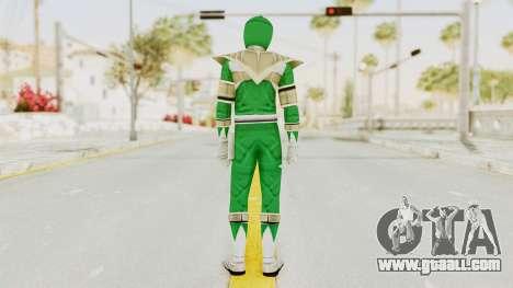 Mighty Morphin Power Rangers - Green for GTA San Andreas third screenshot